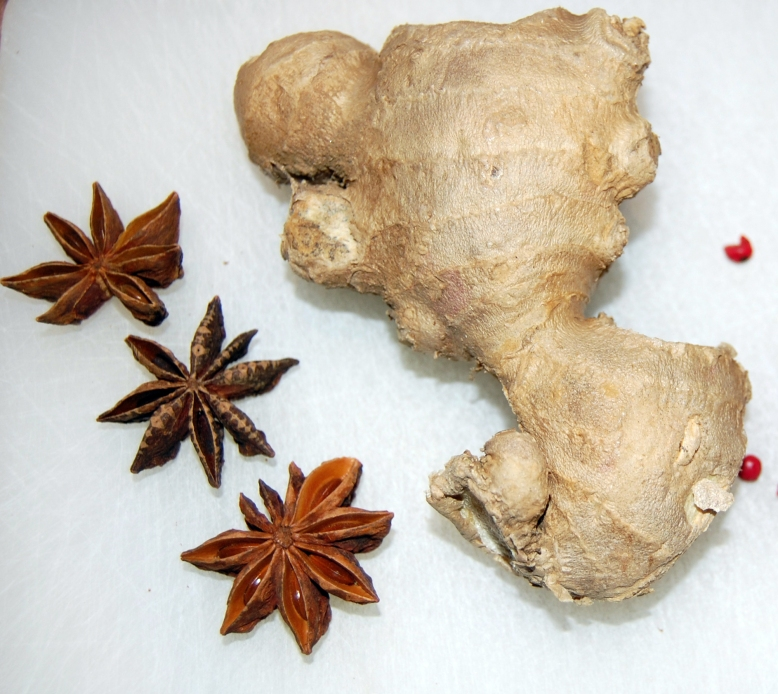 Ginger and anise